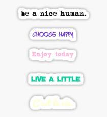 Cute quotes sticker packs Sticker