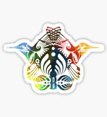Bassnectar Family Crest Sticker