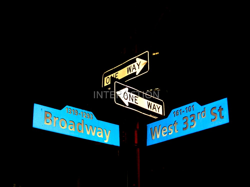 Broadway & West 33rd by INTERACTION
