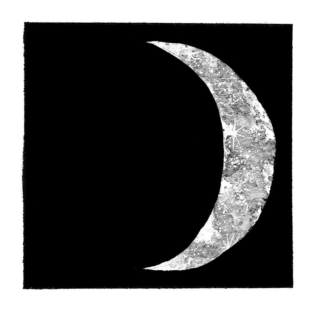 Moon Phases - Waxing Crescent by jadedream