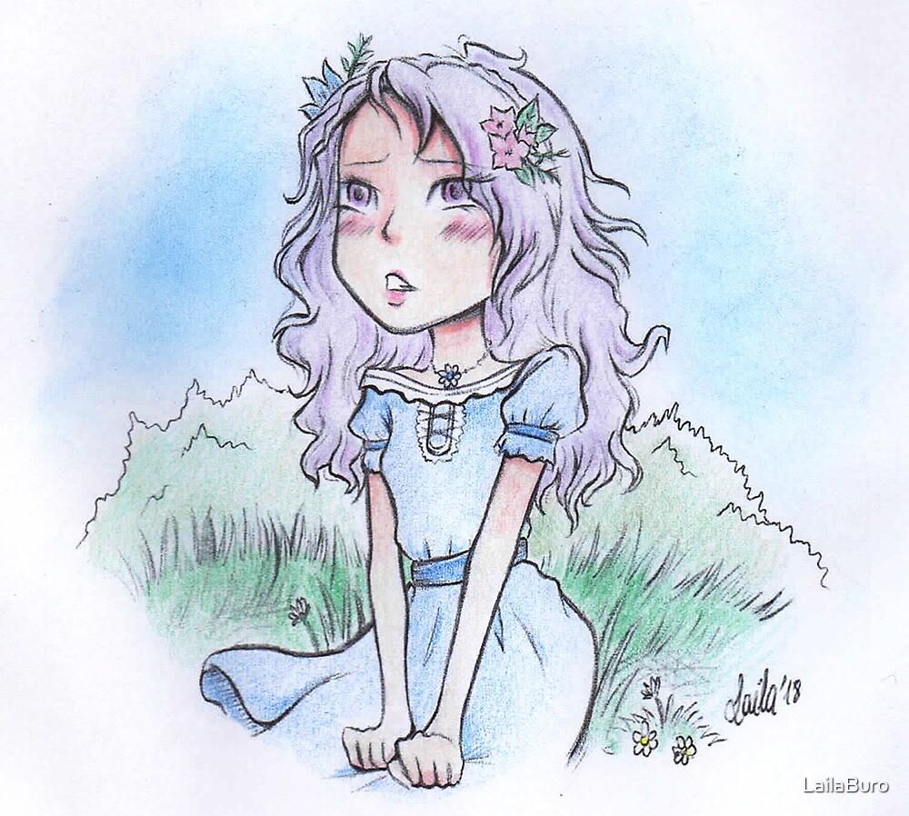 Cute girl by LailaBuro