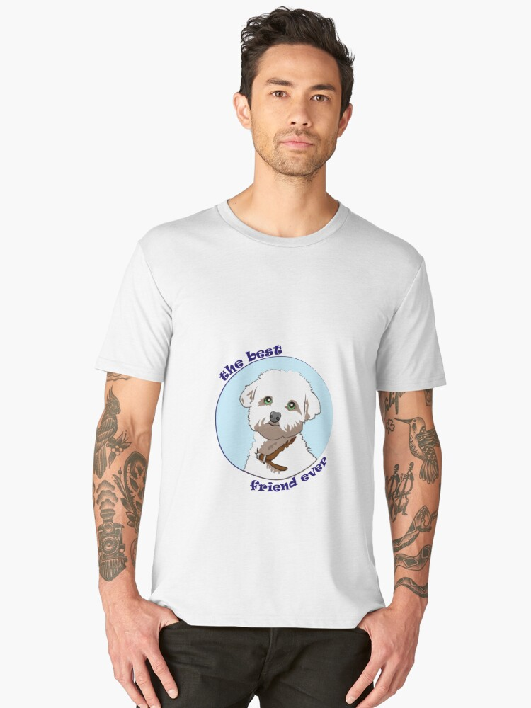 DOG Men's Premium T-Shirt Front