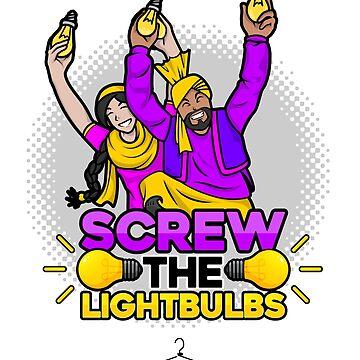 Screw the Lightbulbs by funkyhanger