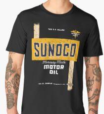 Sunoco Motor Oil Retro Distressed Design Men's Premium T-Shirt