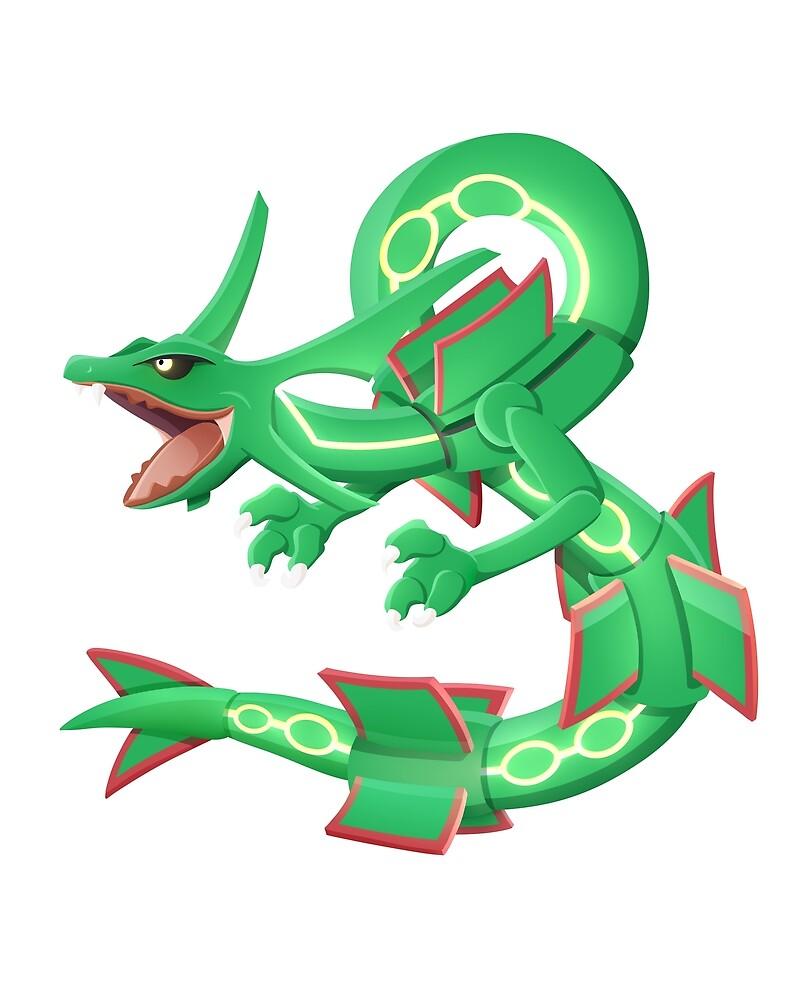 Rayquaza by Smartiesdoodles