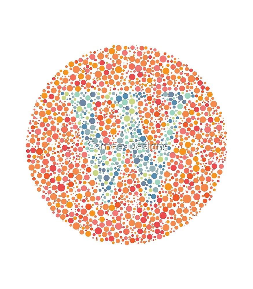 """""""W"""" Eye Test Letter by Cornea-Designs"""
