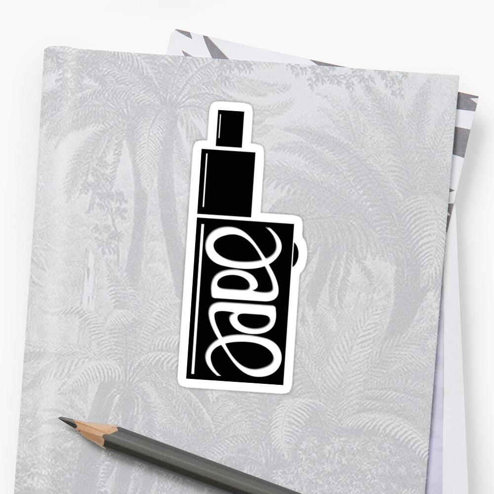 Vape Ambigram by 2vape