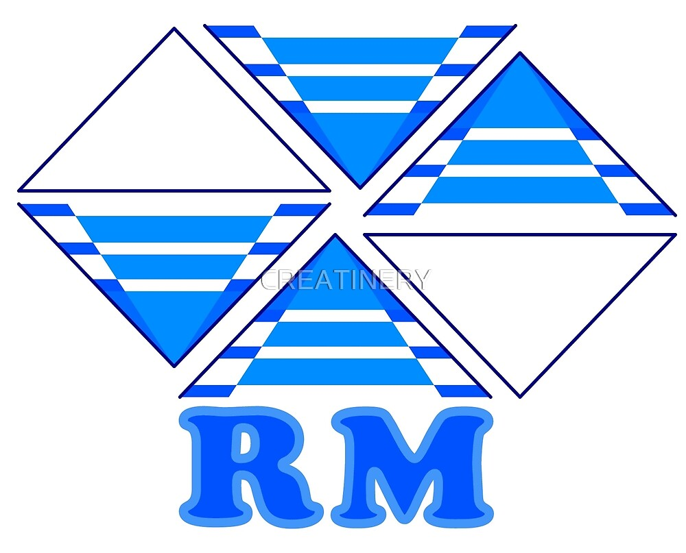RM logo geometric by CREATINERY