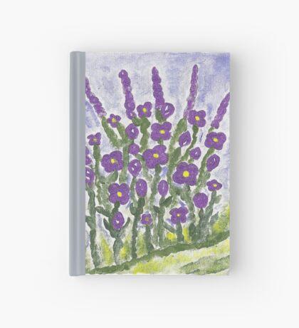 Painted Purple Hardcover Journal