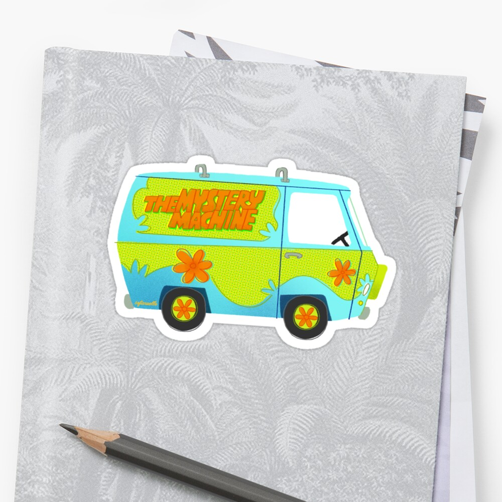 Mystery Machine by sofiaruelle