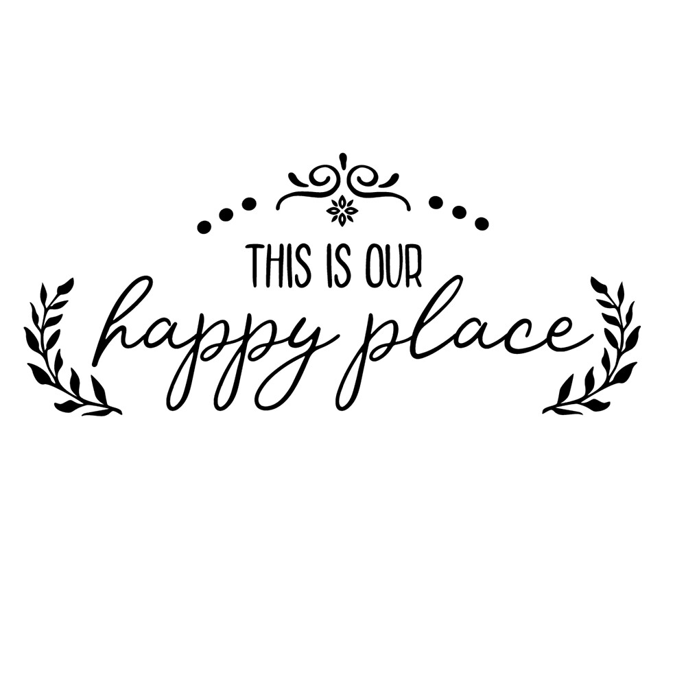 This is our happy place by Leeanne Lowe