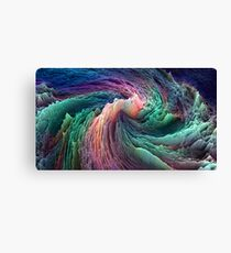 Abstract Data Canvas Print