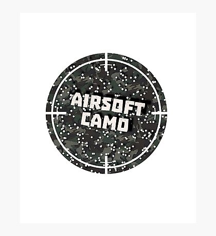 Airsoft Camo Photographic Print