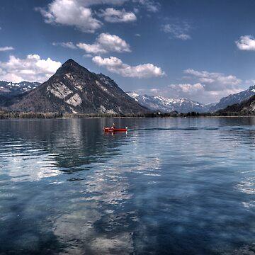Lake Thun by rosiczka