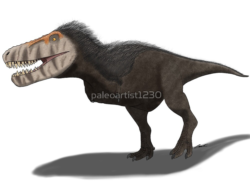 """""""The Real T-Rex"""" by paleoartist1230"""