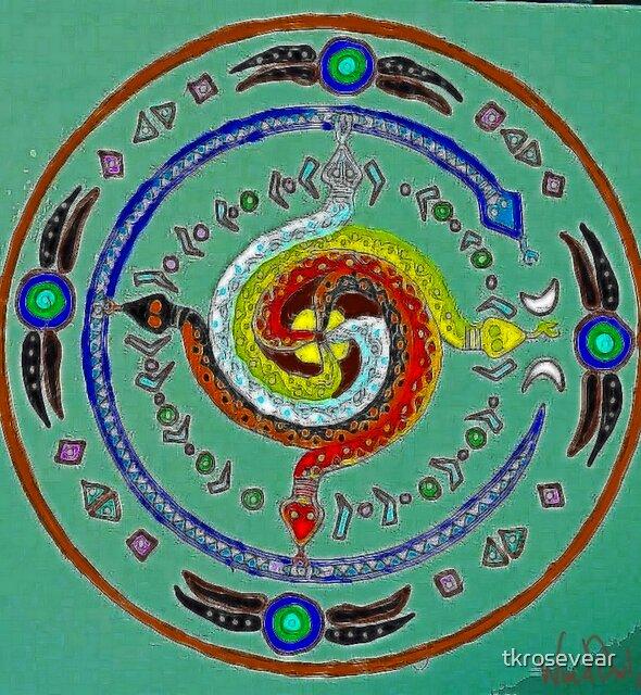 Transmuting Poison Mandala by tkrosevear