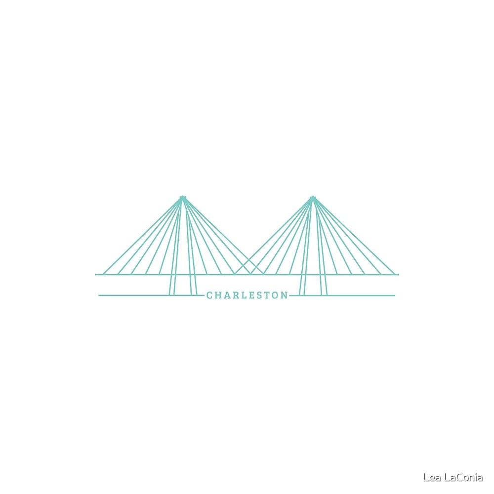 Ravenel Bridge by Lea LaConia