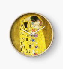 HD The Kiss, by Gustav Klimt 1907-1908 HIGH DEFINITION Clock