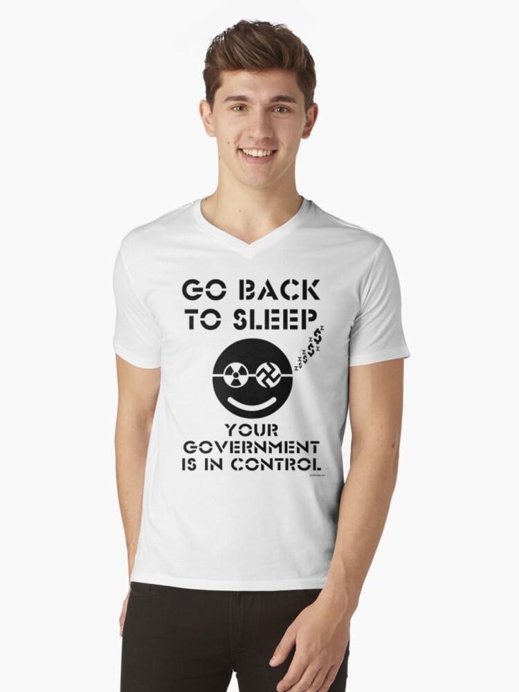 GO BACK TO SLEEP... - ON WHITE by riotgear