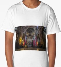 Cathedral of Assumption in Gozo, Malta  Long T-Shirt