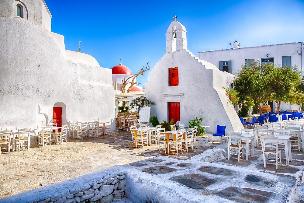 Mykonos, Greece by Stavros
