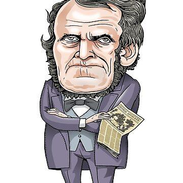 William Lyon Mackenzie by MacKaycartoons