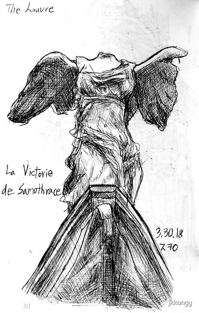 La Victorie de Samothrace by jkkongy