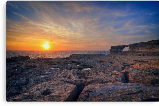 Azure Window, Malta  by sdkbphotography