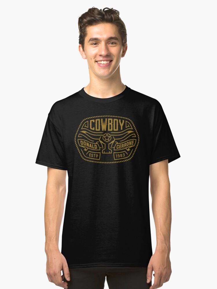 Donald 'Cowboy' Cerrone Est. 1983  Classic T-Shirt Front