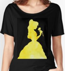Bell e - edit on black Women's Relaxed Fit T-Shirt