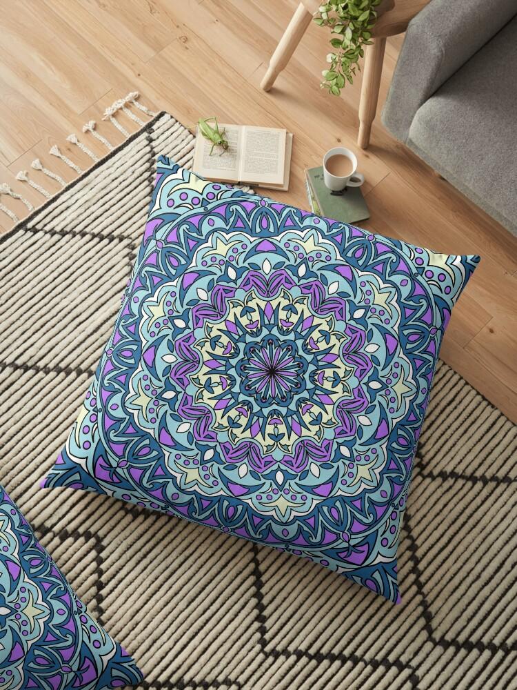 Purple mandala design by Fodorviola73