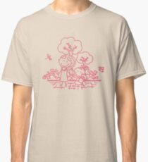Cartoon Pink Classic T-Shirt