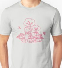 Cartoon Pink Unisex T-Shirt
