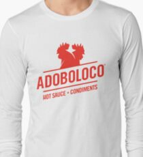 Adoboloco Hot Sauce - Condiments Long Sleeve T-Shirt