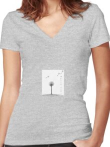 Stick with me Women's Fitted V-Neck T-Shirt