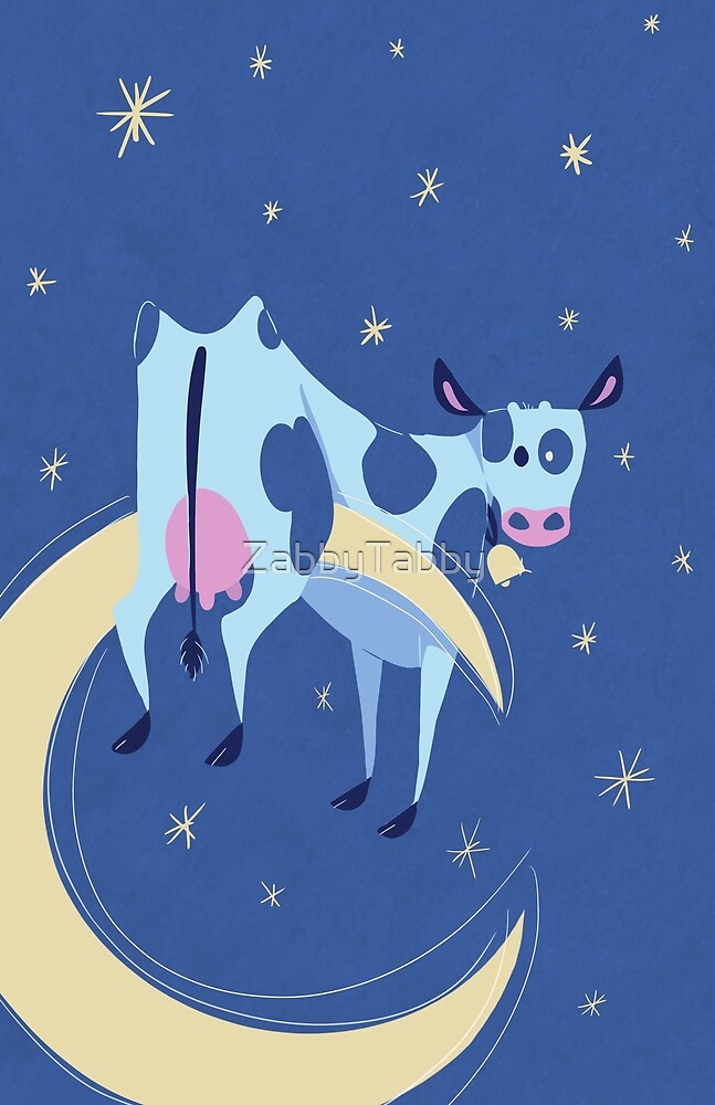 The Cow Jumped Over the Moon by ZabbyTabby