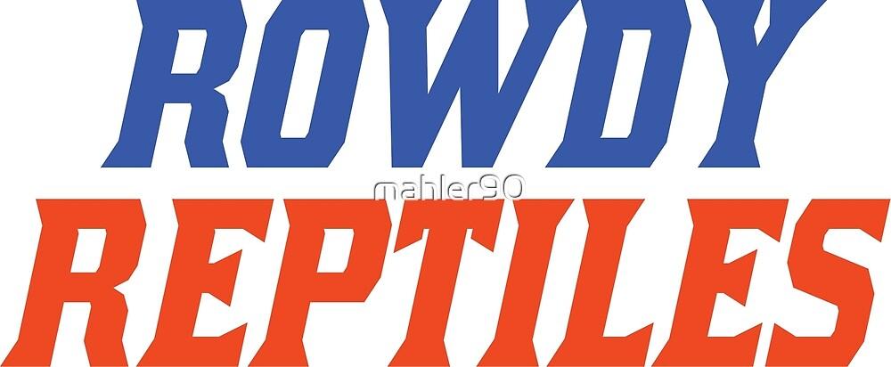 Rowdy Reptiles - Gators by mahler90