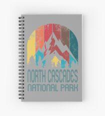 North Cascades National Park Gift or Souvenir T Shirt Spiral Notebook