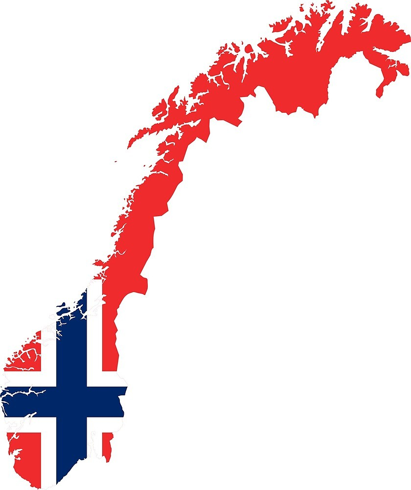Norway Continent Flag by PRODUCTPICS