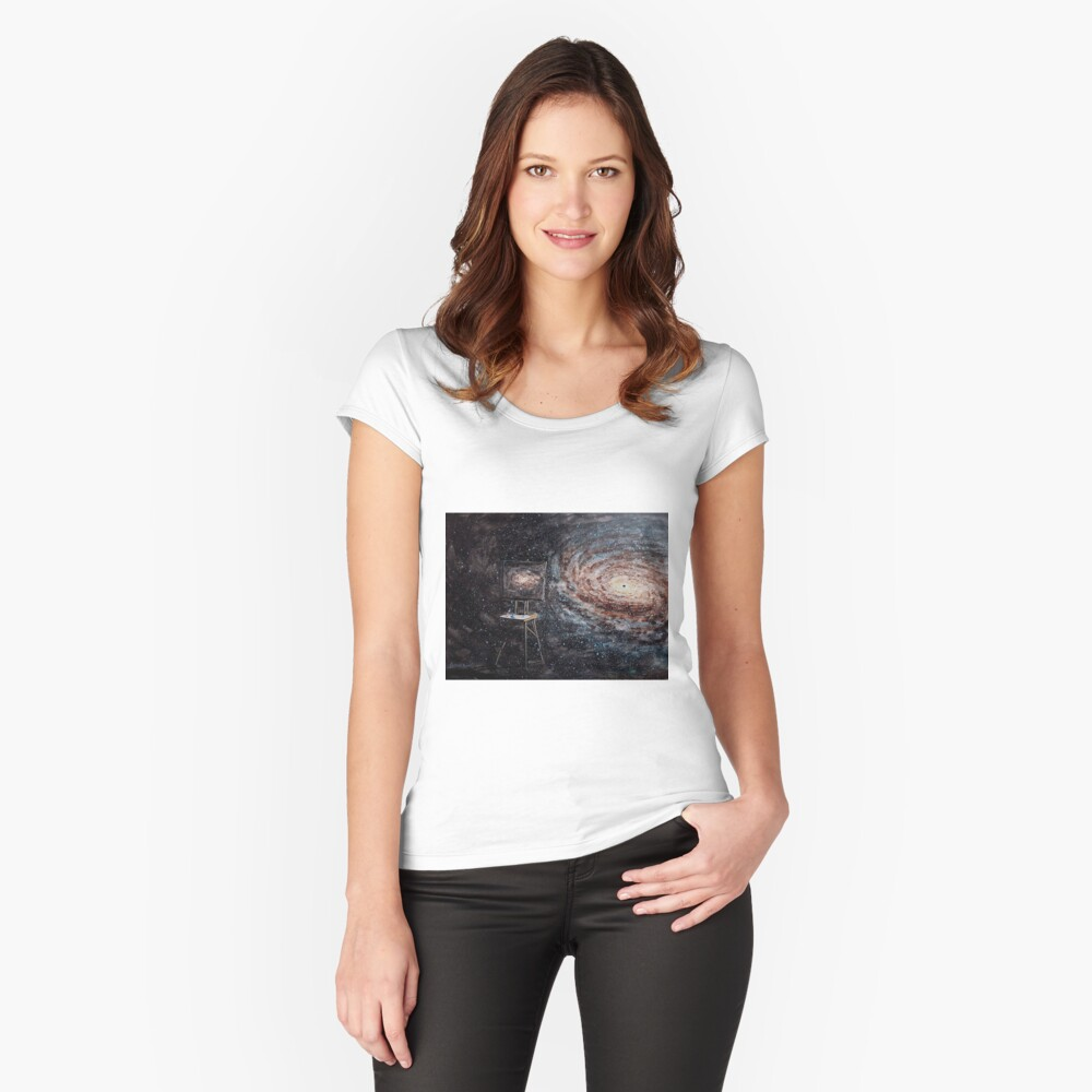 Untitled Fitted Scoop T-Shirt
