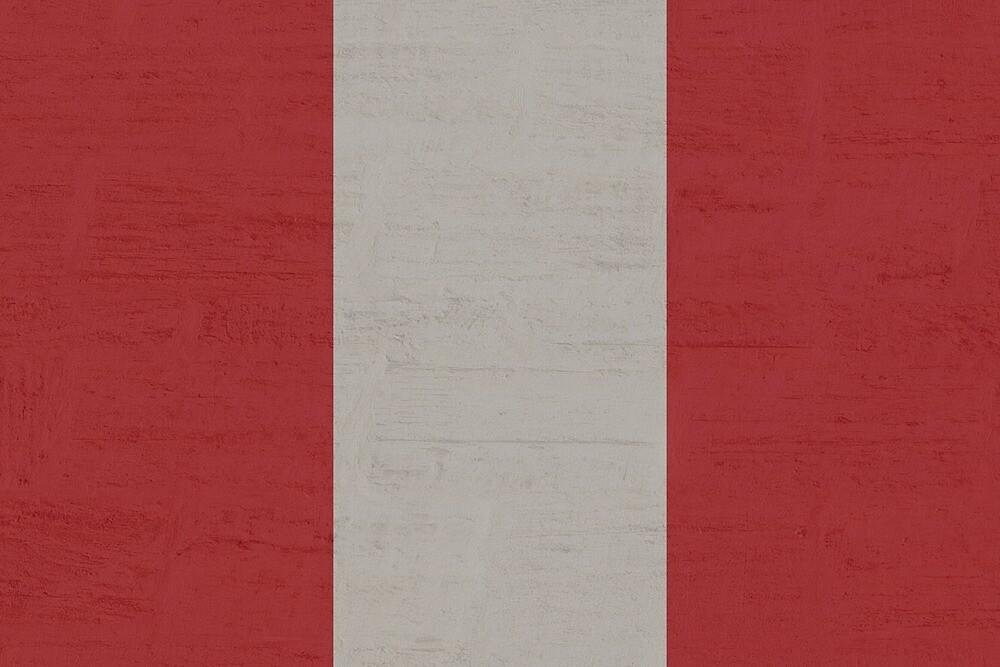 Grunge Vintage Peru Flag by PRODUCTPICS