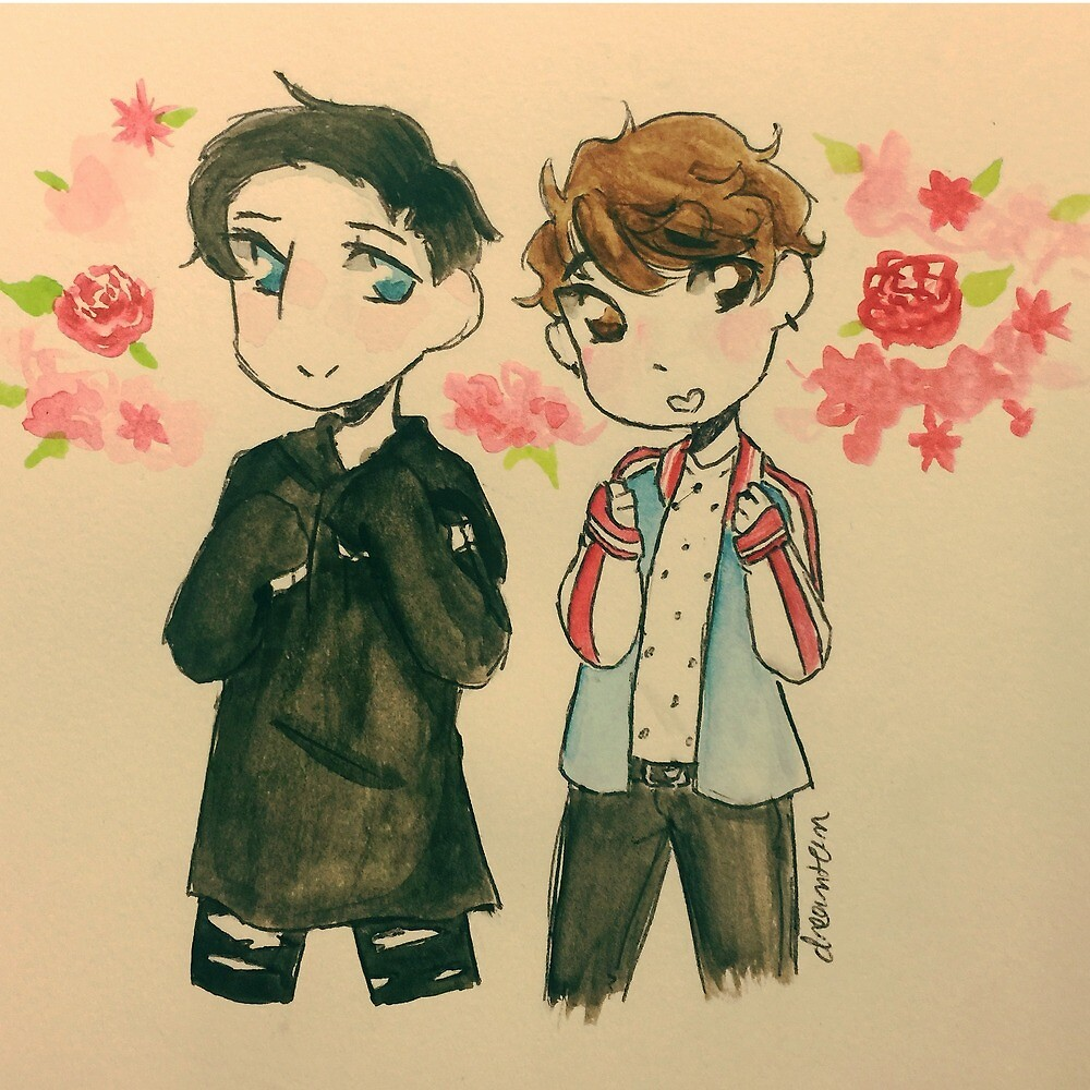 Dan and Phil Clothes Swap! by DreamTeamArt