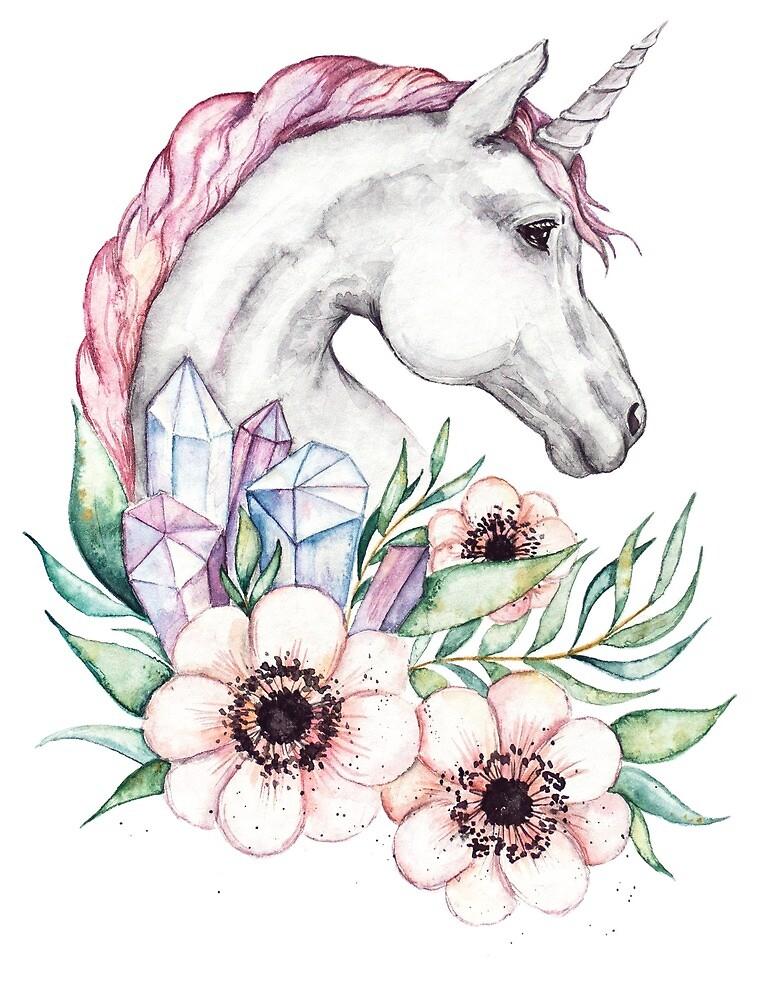 spring unicorn by MARIYA VASHCHENKO