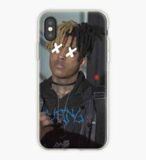 xxxtentacion covered eyes iPhone Case