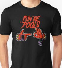 Run the 'Pools Unisex T-Shirt