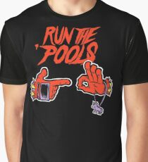 Run the 'Pools Graphic T-Shirt