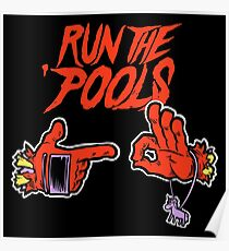 Run the 'Pools Poster