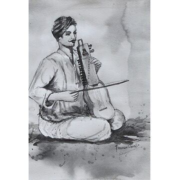 Indian Musician  by artyzoneindia