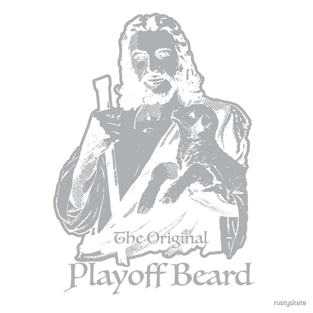 The Original Playoff Beard Alternate by rustyskate