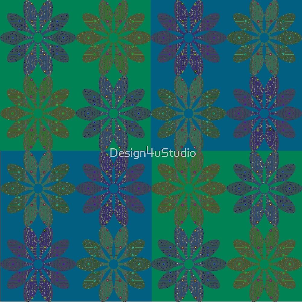 Flower Pattern4 by Design4uStudio